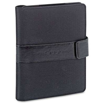 8.5 in. Black Polyester Classic UNIVERSAL FIT Tablet Booklet
