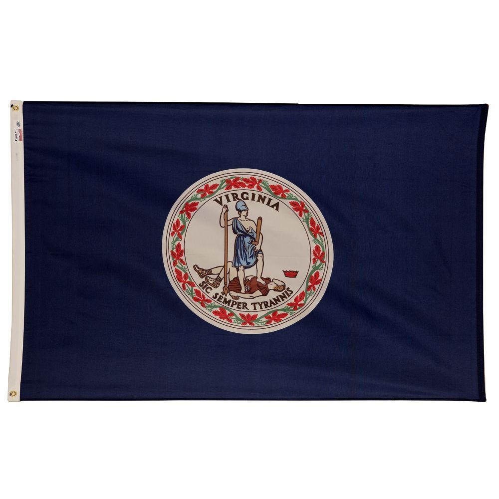 3 ft. x 5 ft. Nylon Virginia State Flag