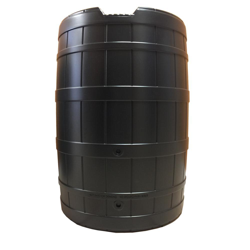 50 gallon rain barrel with Brass Spigot