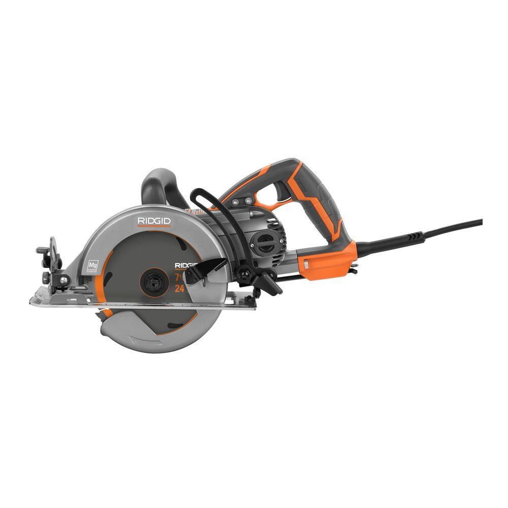 15 Amp 7-1/4 in. Worm Drive Circular Saw