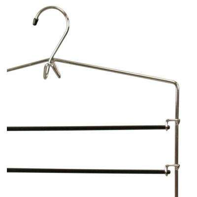 Chrome Plated Steel Trouser Hanger (1-Pack)