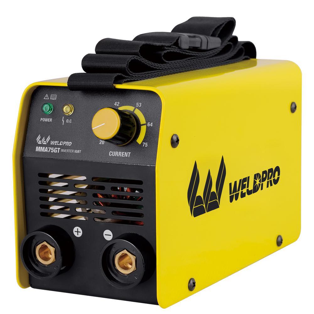 W Weldpro 75 Amp Inverter Stick Welder by W Weldpro