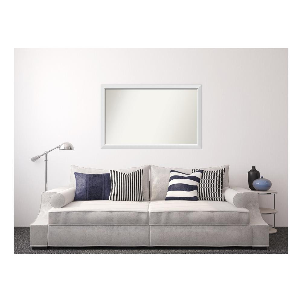 Amanti Art 33 in. x 52 in. Blanco White Wood Framed Mirror was $585.25 now $275.65 (53.0% off)