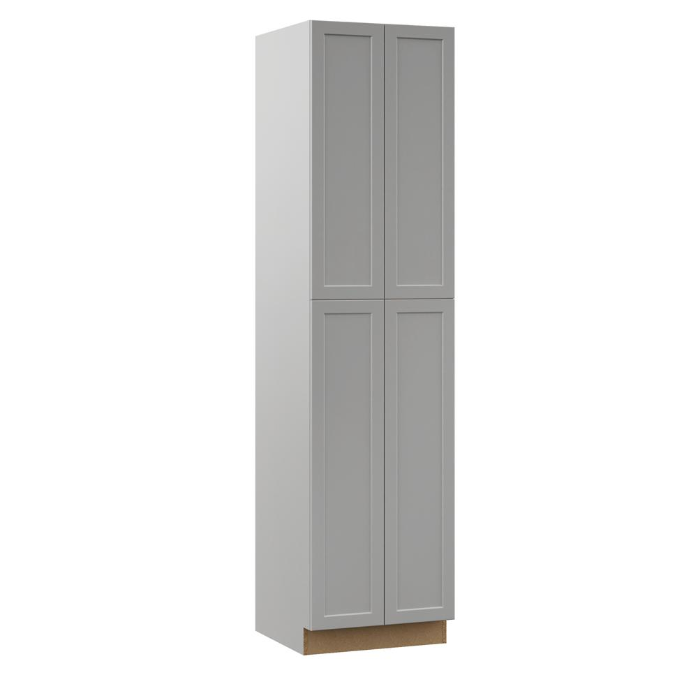 Hampton Bay Kitchen Cabinets At Home Depot: Hampton Bay Designer Series Melvern Assembled 24x96x23.75