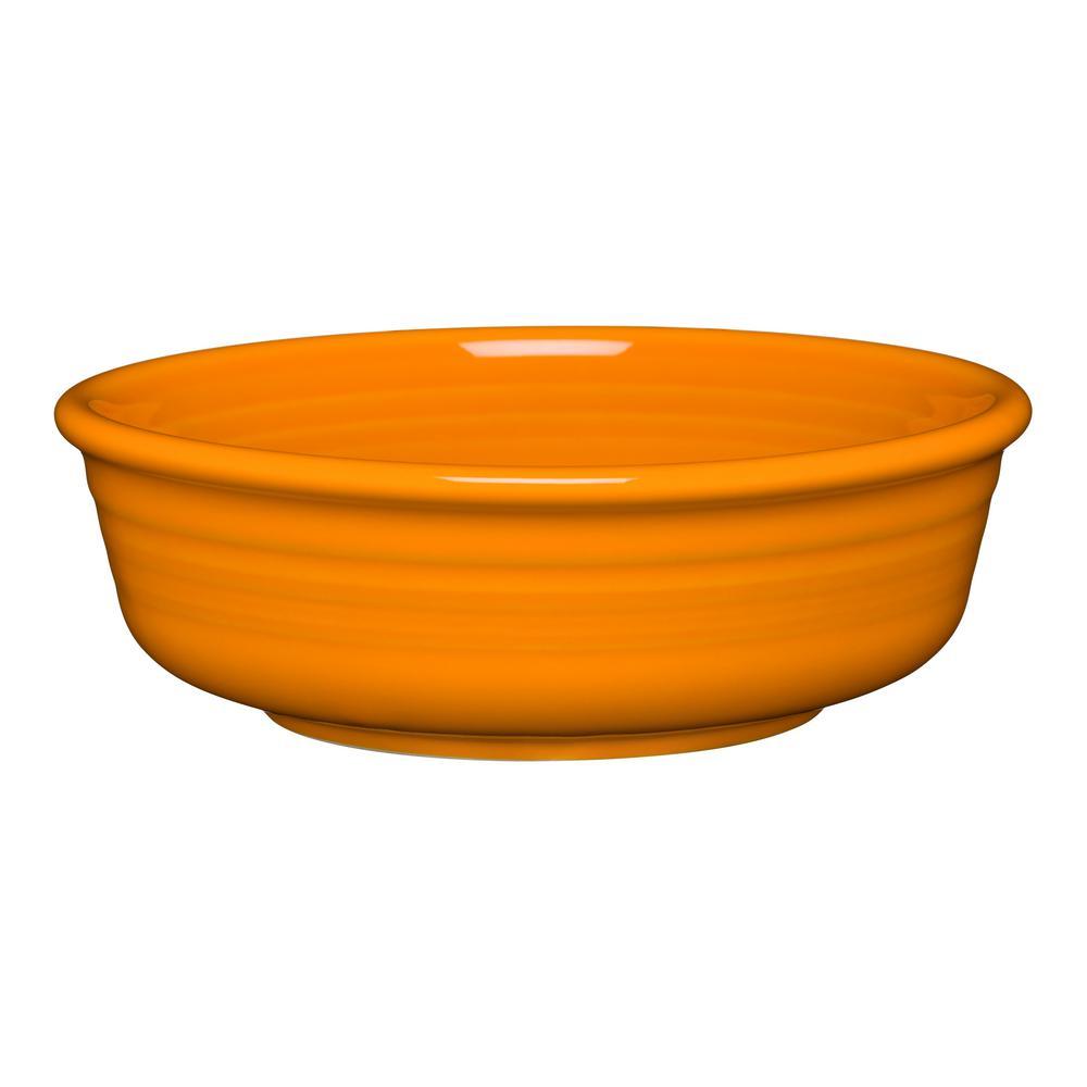 15 fl. oz. Butterscotch Ceramic Small Bowl