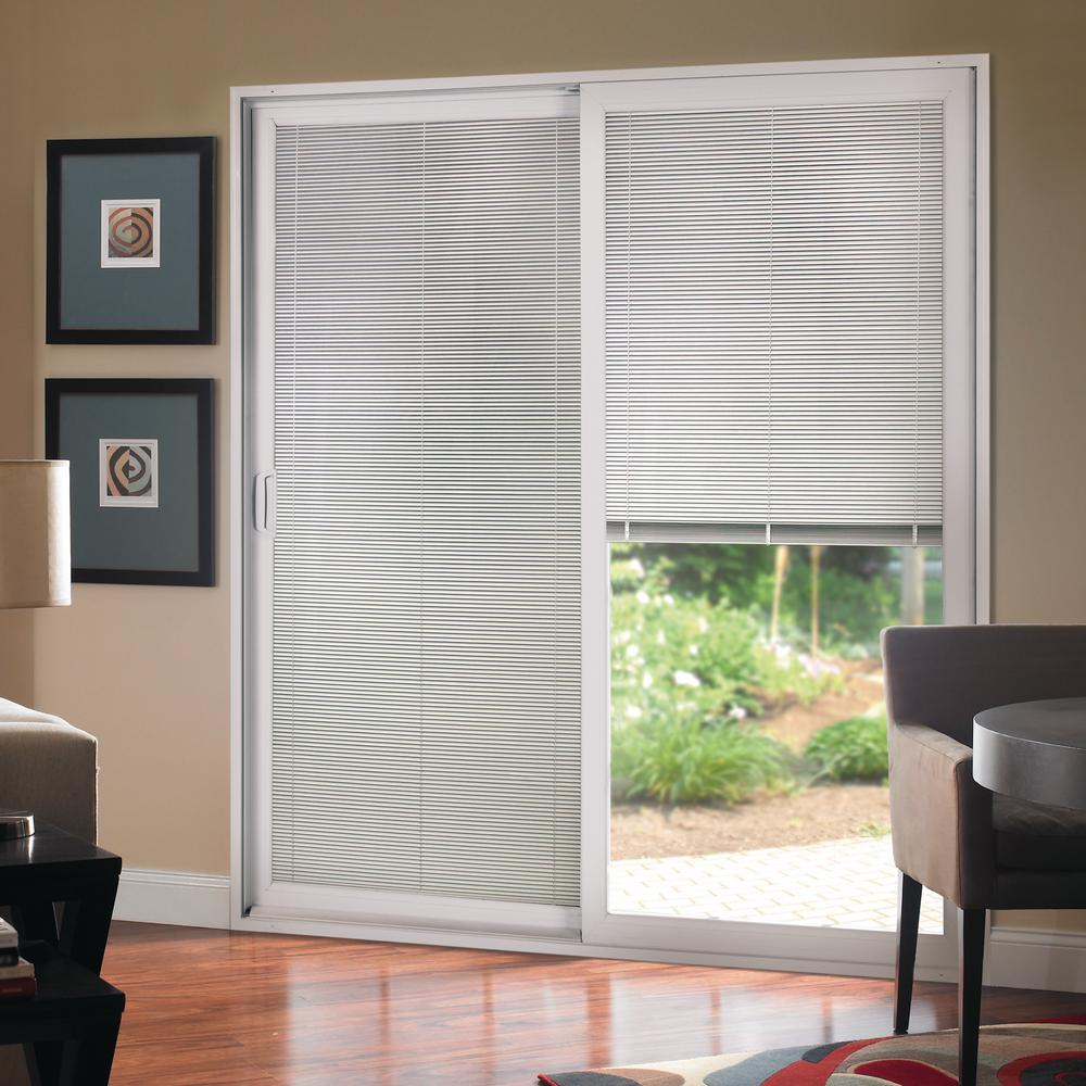 PlyGem 72 in. x 80 in. Right-Hand Sliding Patio Door with Low-E ...