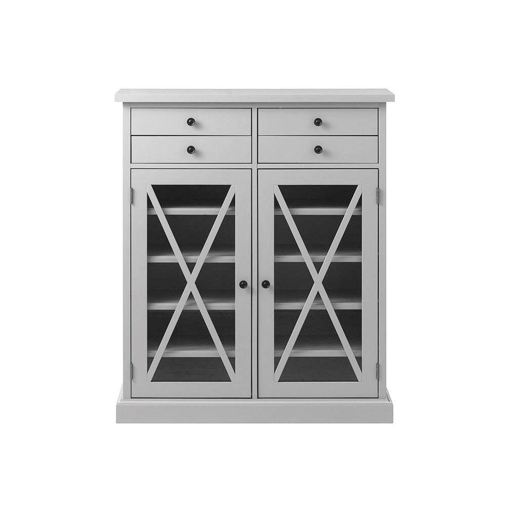 Hampton Grey Storage Cabinet