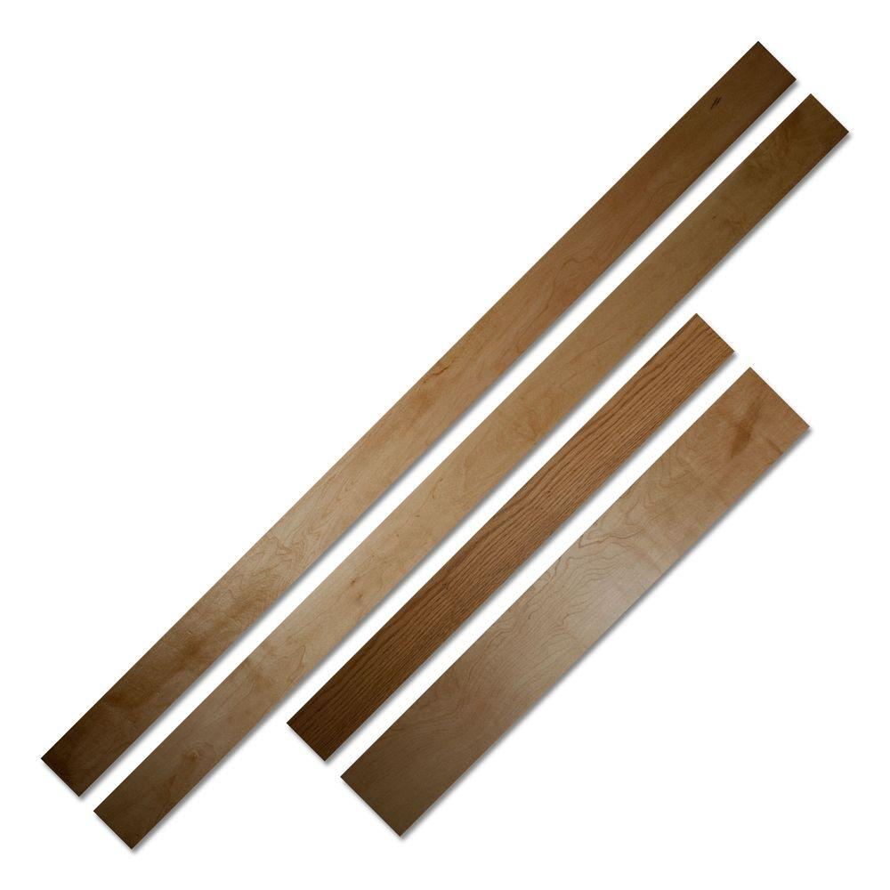 French door wood sill overlaysupplemental instructionmarvin french - Invisidoor Red Oak Inswing Jam Threshold Accessory For 32 In Or 36 In