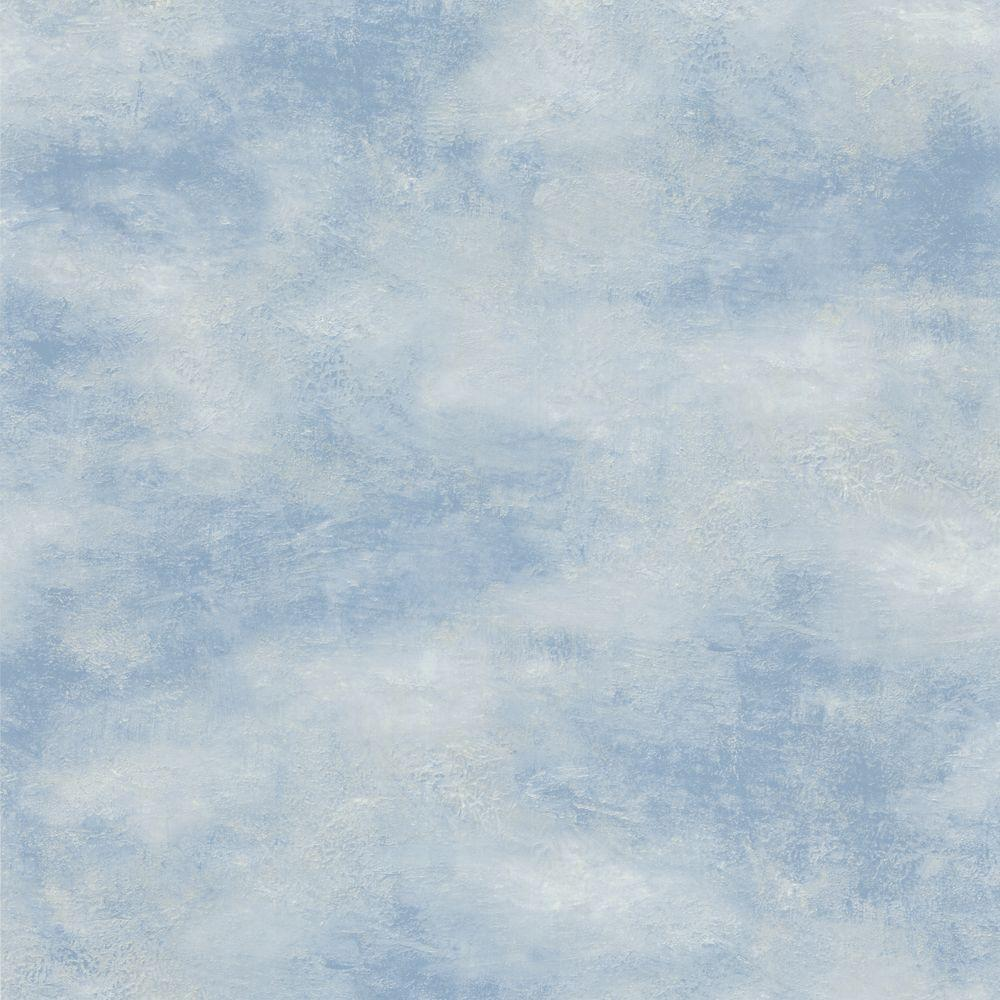The Wallpaper Company 56 sq. ft. Blue Skies Wallpaper-DISCONTINUED