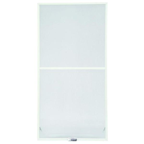 35-7/8 in. x 54-27/32 in., White Aluminum Insect Screen, For 400 Series & 200 Series Narroline Double-Hung Windows