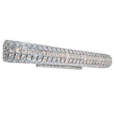 Sterling 5-Light Chrome Sconce