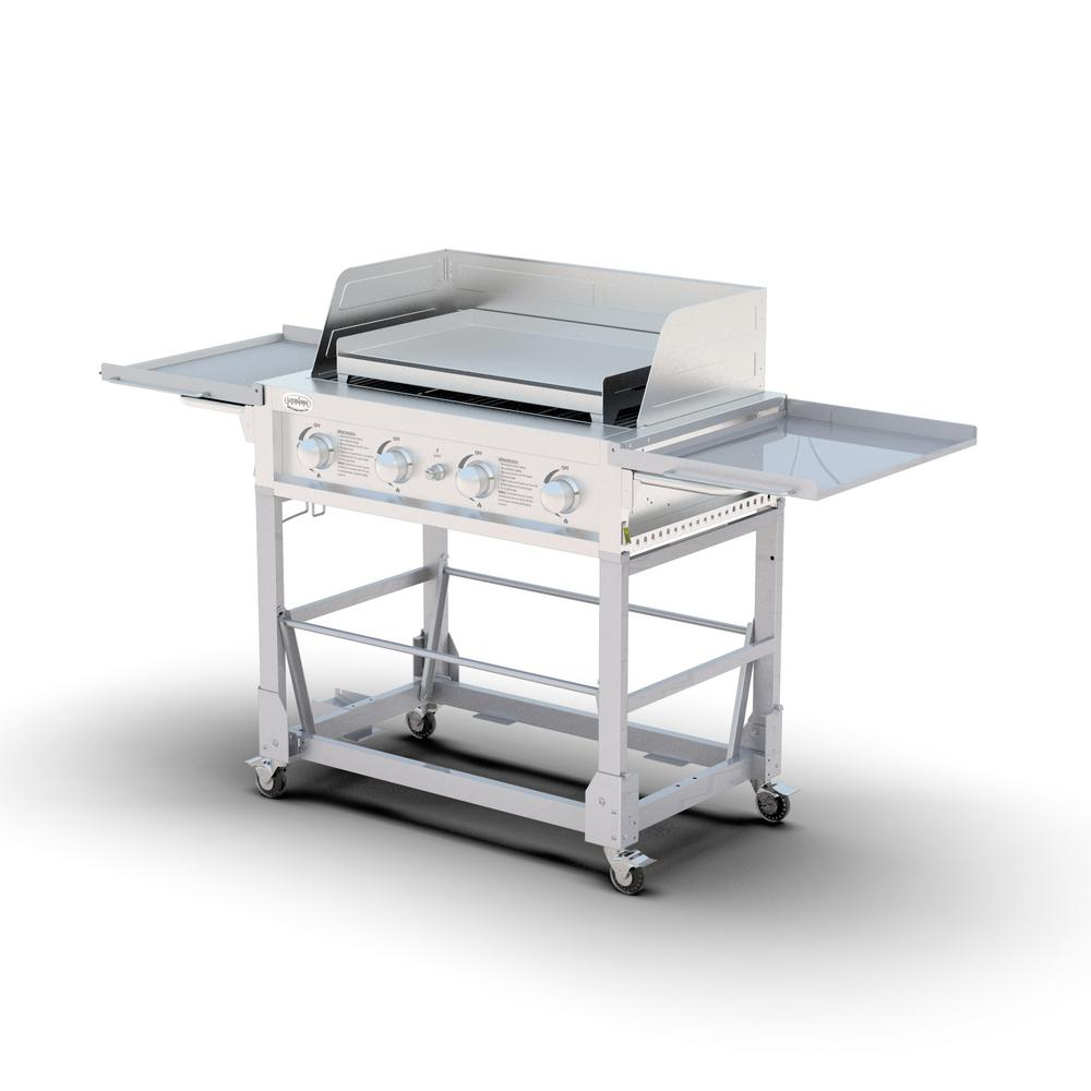 Louisiana Grills Event Grill and Griddle in Silver