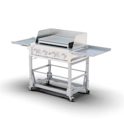 Event Grill and Griddle in Silver