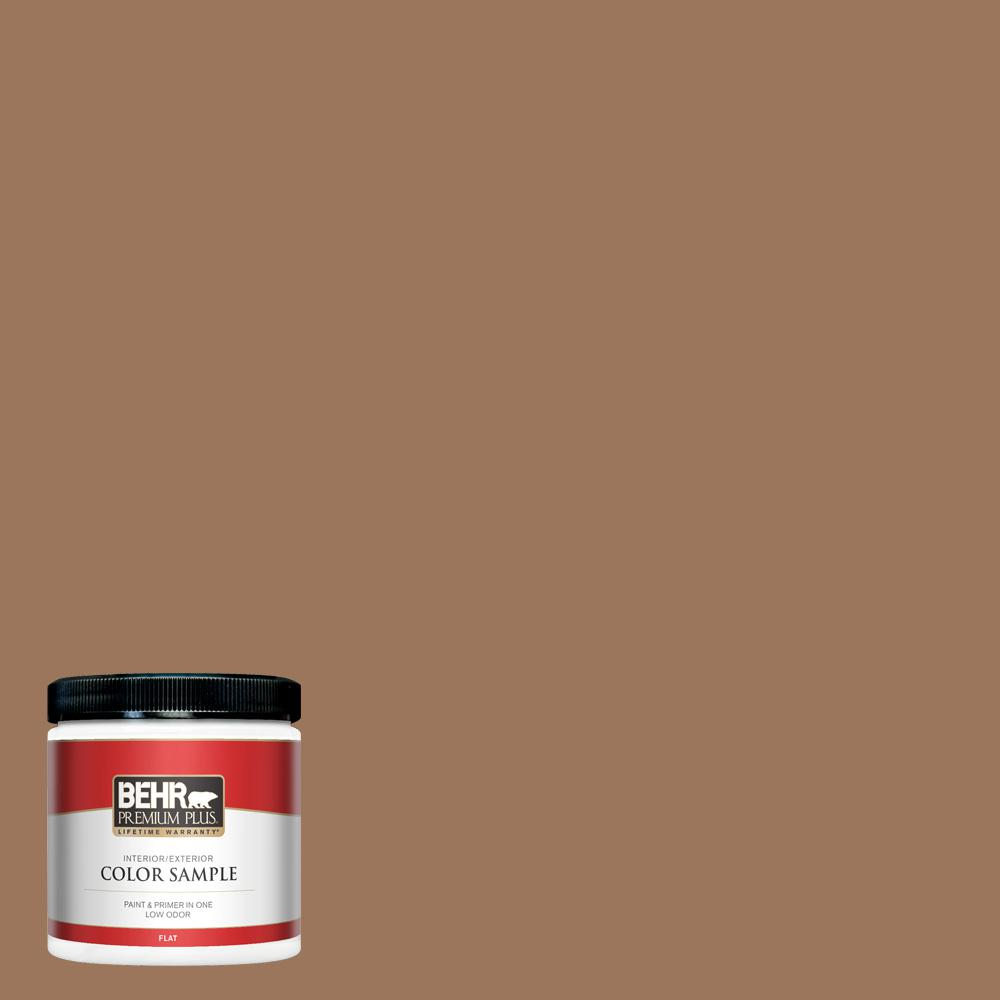 Behr Premium Plus 8 Oz S220 6 Baked Sienna Flat Interior Exterior Paint And Primer In One Sample Pp10316 The Home Depot Burnt sienna, followed by 346 people on pinterest. behr premium plus 8 oz s220 6 baked sienna flat interior exterior paint and primer in one sample