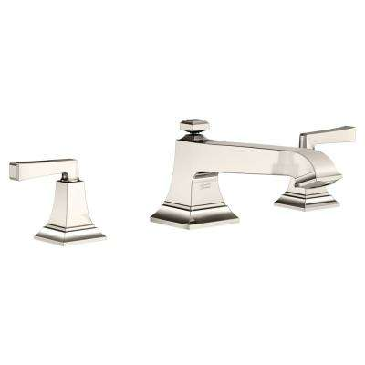 Town Square S 2-Handle Deck-Mount Roman Tub Faucet in Polished Nickel