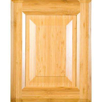 Installed Cabinet Refacing Wood Stained Doors