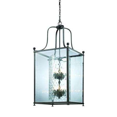 Lawrence Collection 8-Light Bronze Pendant
