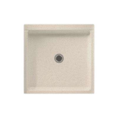 36 in. x 36 in. Solid Surface Single Threshold Shower Pan in Tahiti Sand