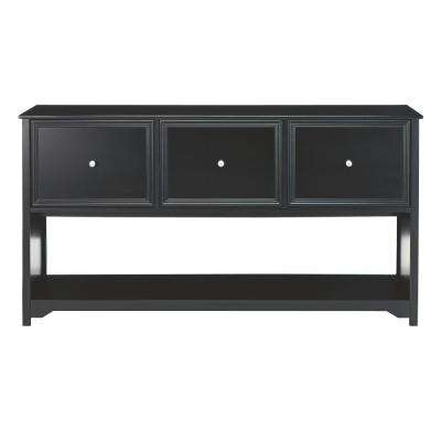 Oxford Black File Cabinet