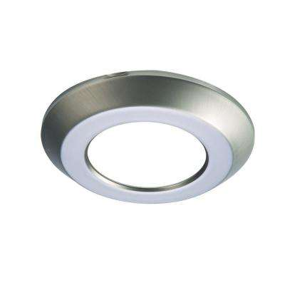 SLD 4 in. Satin Nickel Recessed Lighting Retrofit Replaceable Trim Ring