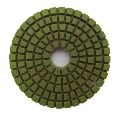 3 in. #3000 Grit Wet Diamond Polishing Pad for Stone