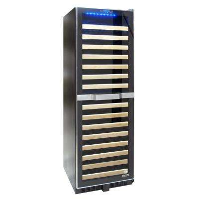 155-Bottle Dual Zone Wine Cooler with Touch Screen