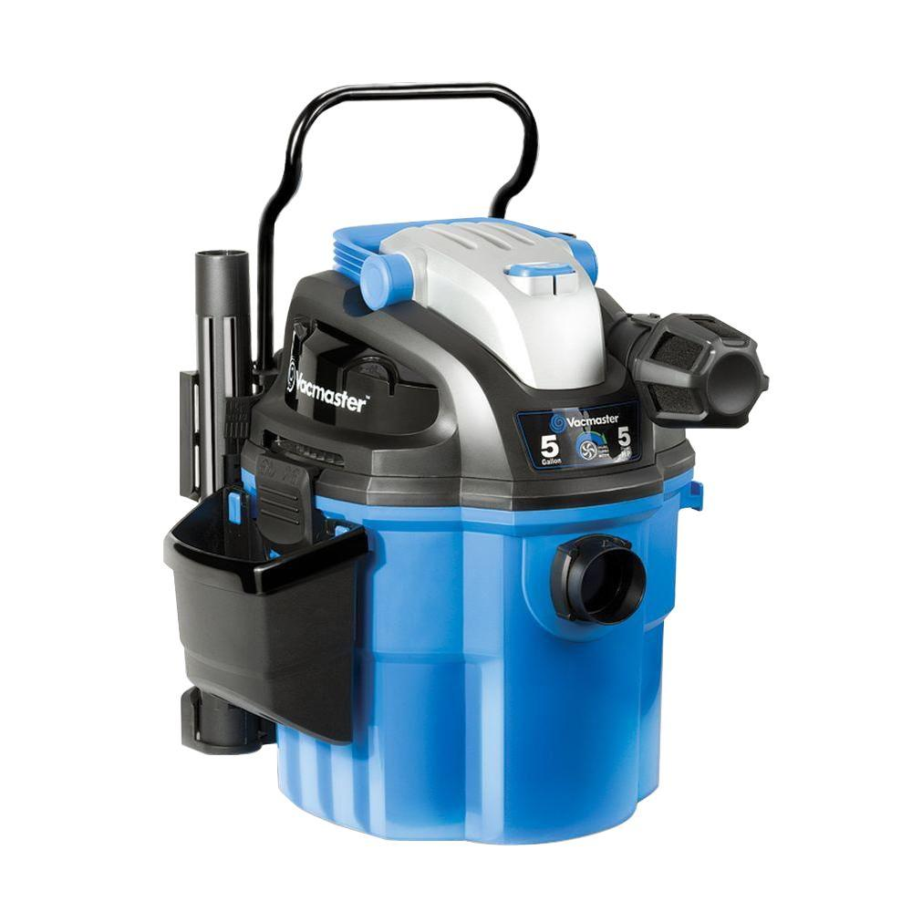Vacmaster 5-gal. Wall Mount / Portable Wet/Dry Vac with 2-Stage Motor