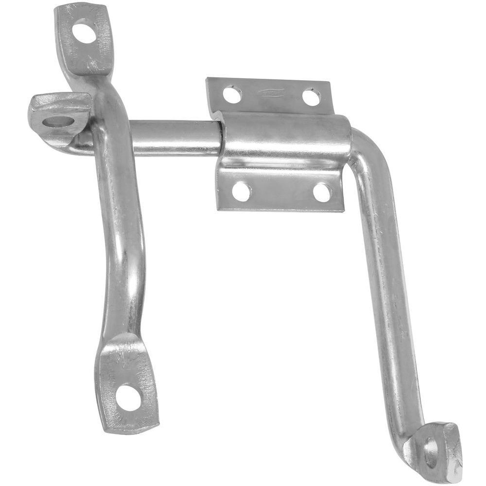 Zinc-Plated Door/Gate Latch with Bar Strike