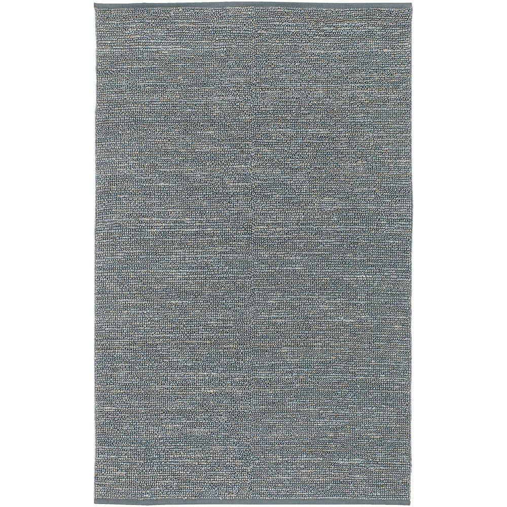Artistic Weavers Rio Gray Blue 9 ft. x 13 ft. Area Rug