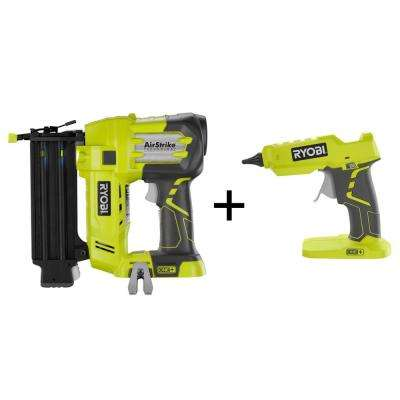 18-Volt One+ 18-Gauge Brad Nailer and 18-Volt One+ Glue Gun