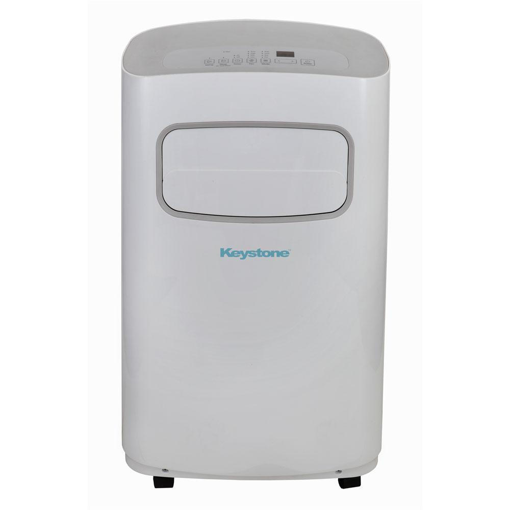 14,000 BTU 115-Volt Portable Air Conditioner with Dehumidifier and Remote in
