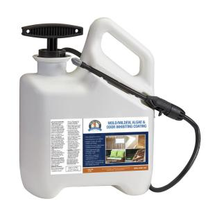 Bare Ground 96 oz. 1 Shot N Gone Mold-Mildew Inhibiting Coating Pre-Loaded Into 1 Gal. Sprayer Applicator by Bare Ground