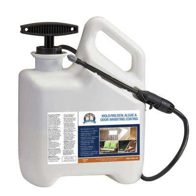 96 oz. 1 Shot N Gone Mold-Mildew Inhibiting Coating Pre-Loaded Into 1 Gal. Sprayer Applicator