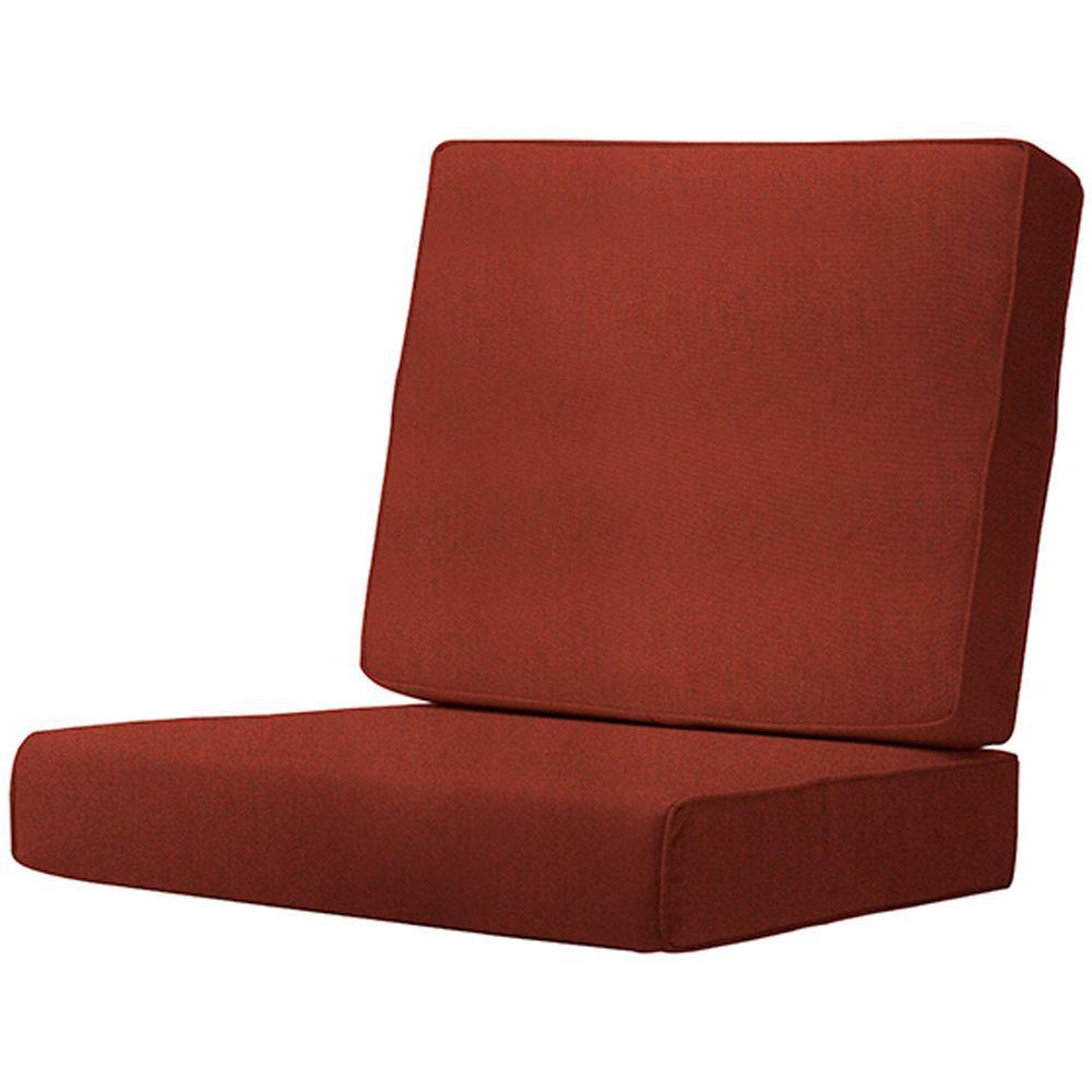 Home Decorators Collection Sunbrella Henna Outdoor Lounge Chair Cushion