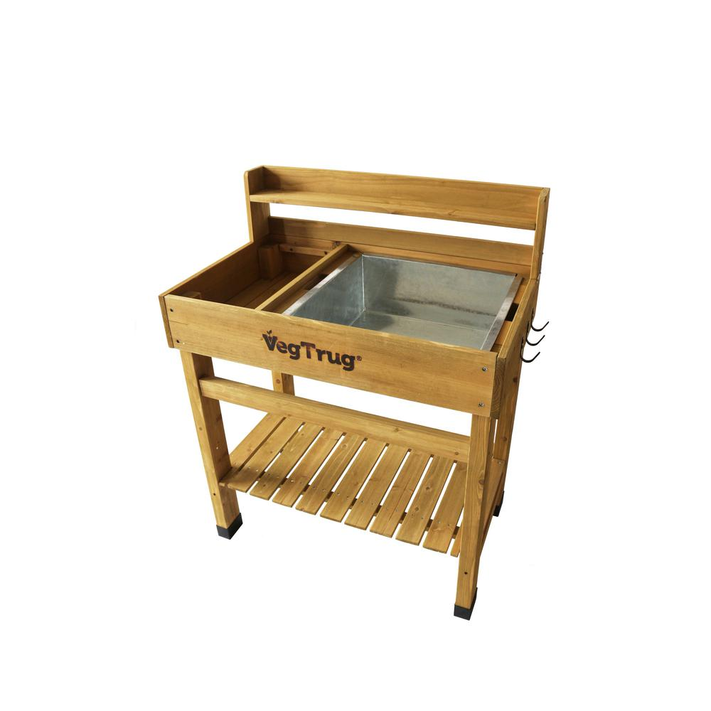 VegTrug Natural Deluxe Potting Bench-DPT6008NUSA - The ...