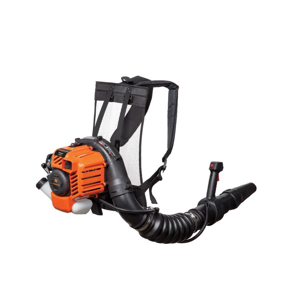 Remington 145 MPH 445 CFM 2-Cycle 27cc Gas Backpack Leaf Blower