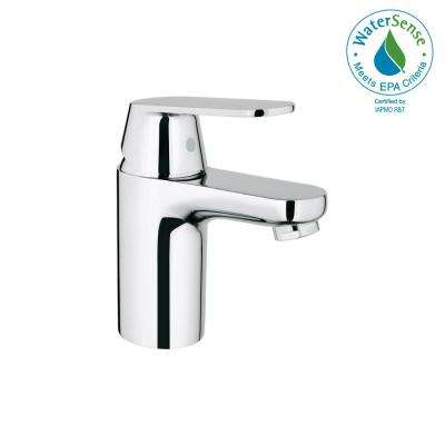 Eurosmart Cosmopolitan Single Hole Single-Handle Low-Arc Bathroom Faucet in StarLight Chrome