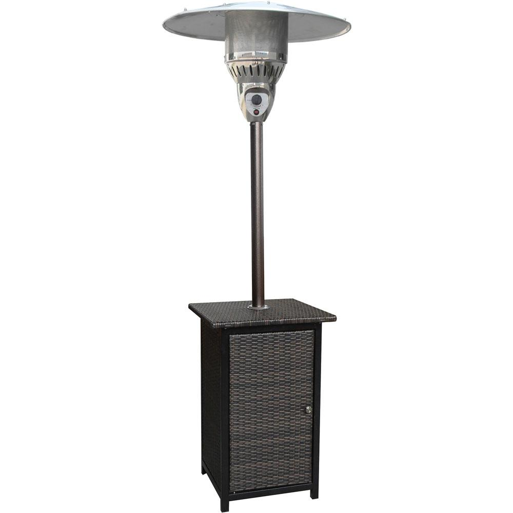 Beautiful 41,000 BTU Stainless Steel Square Propane Patio Heater