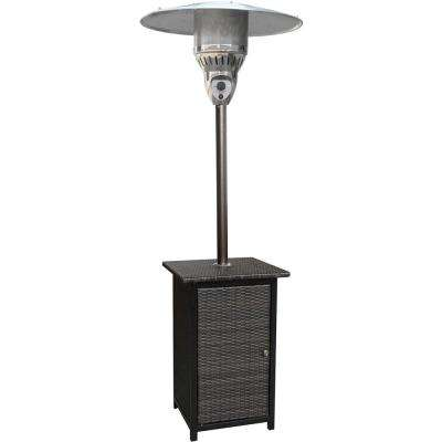 Delightful 7 Ft. 41,000 BTU Stainless Steel Square Propane Patio Heater · Cambridge ...