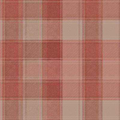 Urban Check Fabric Strippable Wallpaper (Covers 57 sq. ft.)