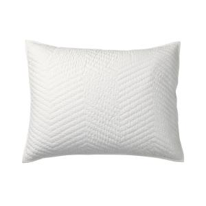 Company Cotton White Solid Standard Sham