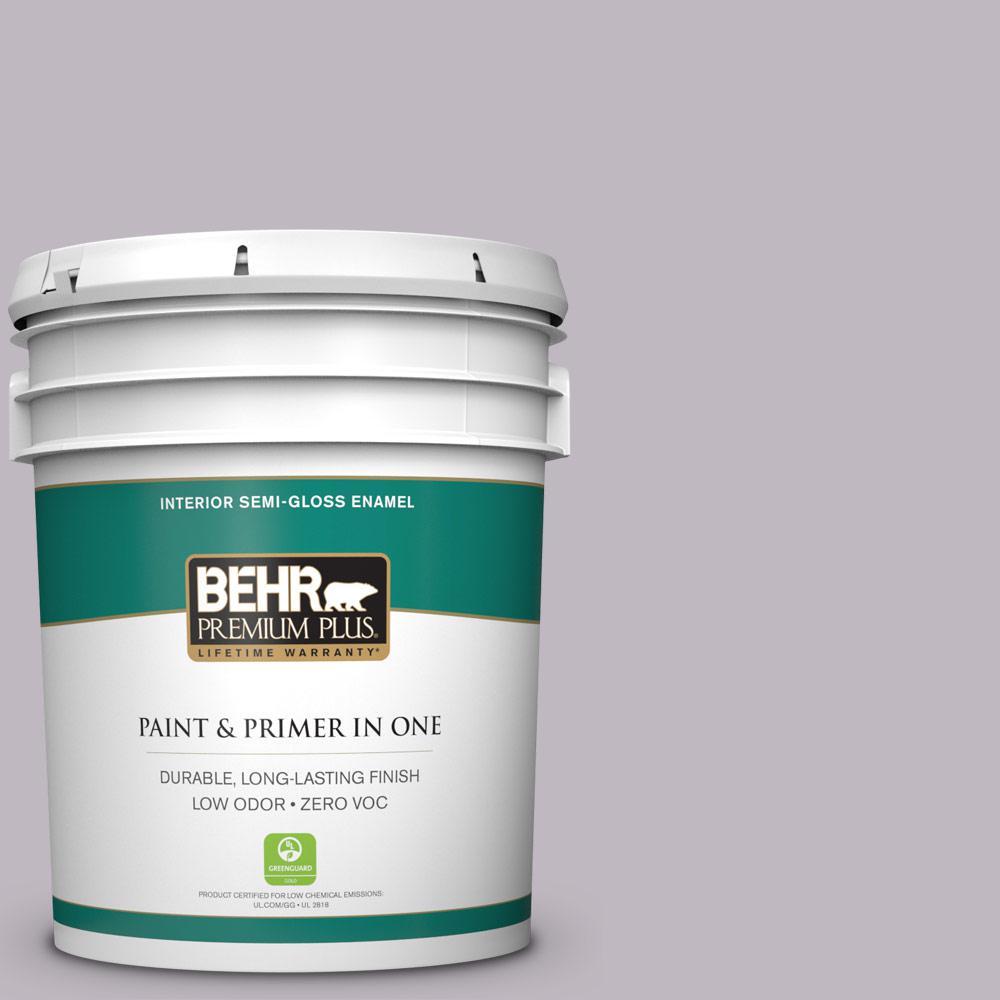 BEHR Premium Plus 5-gal. #N570-2 Standing Ovation Semi-Gloss Enamel Interior Paint