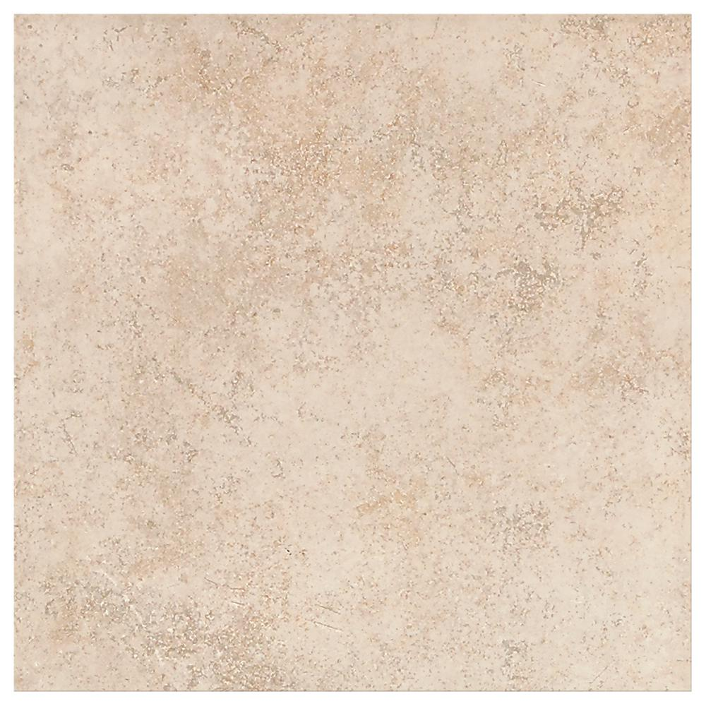 Trafficmaster Provo Beige 16 In X Ceramic Floor And Wall Tile