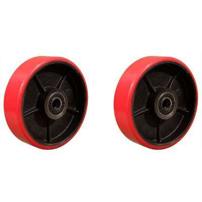 Replacement Polyurethane Steering Wheels for Pallet Jack