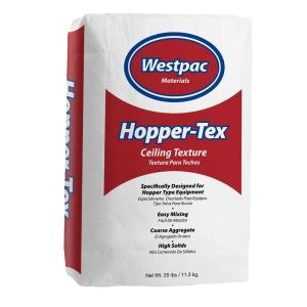 Westpac Materials 25 Lb Hopper Tex Ceiling Texture Bag 10025h The Home Depot