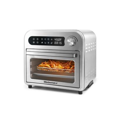 10 Qt. 1500 W Stainless Steel Air Fryer Oven