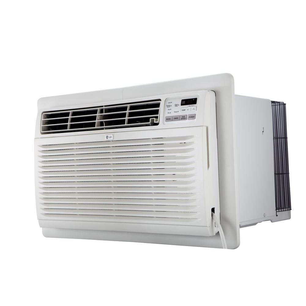LG Electronics 8,000 BTU 115-Volt Through-the-Wall Air Conditioner with Remote