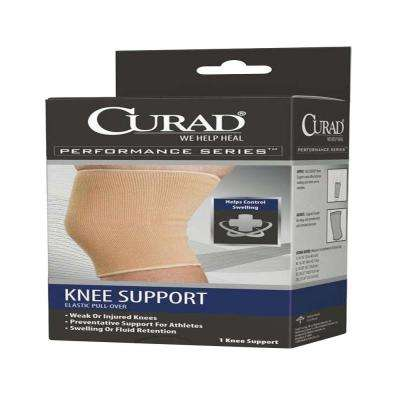 Extra-Large Elastic Pull-Over Knee Support with Cartilage Pad