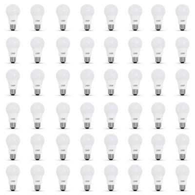 40-Watt Equivalent A19 Dimmable CEC Title 24 Compliant LED ENERGY STAR 90+ CRI Light Bulb, Soft White (48-Pack)