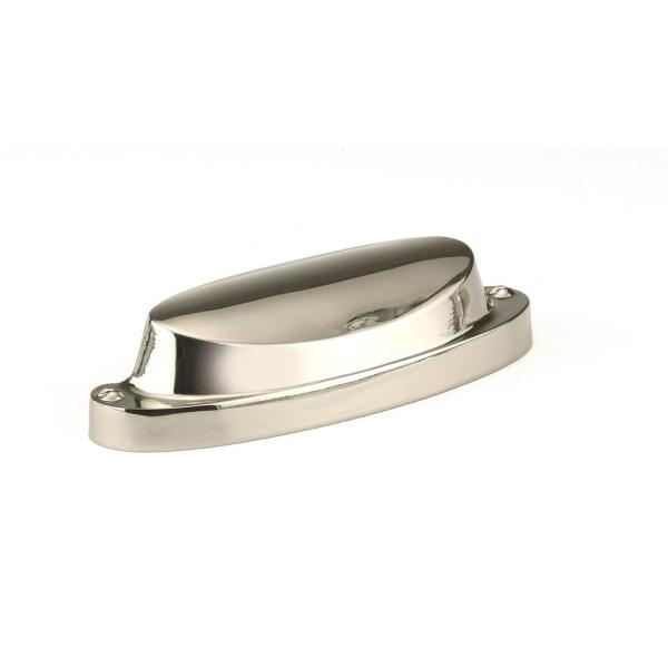 Richelieu Hardware 2 1 2 In 64 Mm Center To Center Polished Nickel Contemporary Cup Pull Bp21064180 The Home Depot